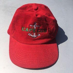 Vintage cape cod corduroy cap